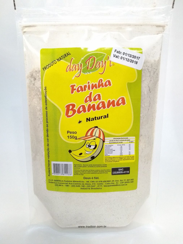 Farinha de banana, 150g - Day Day't