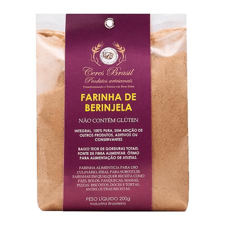 Farinha de Beringela 200g - Ceres Brasil