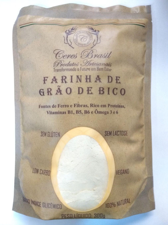Farinha de grão de bico, 300g – Ceres Brasil