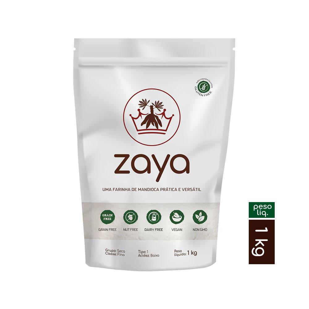 Farinha de Mandioca - Zaya