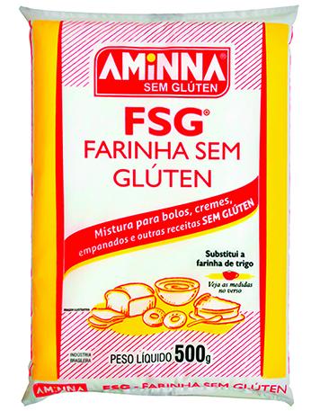 Farinha sem glúten, 500g – Aminna