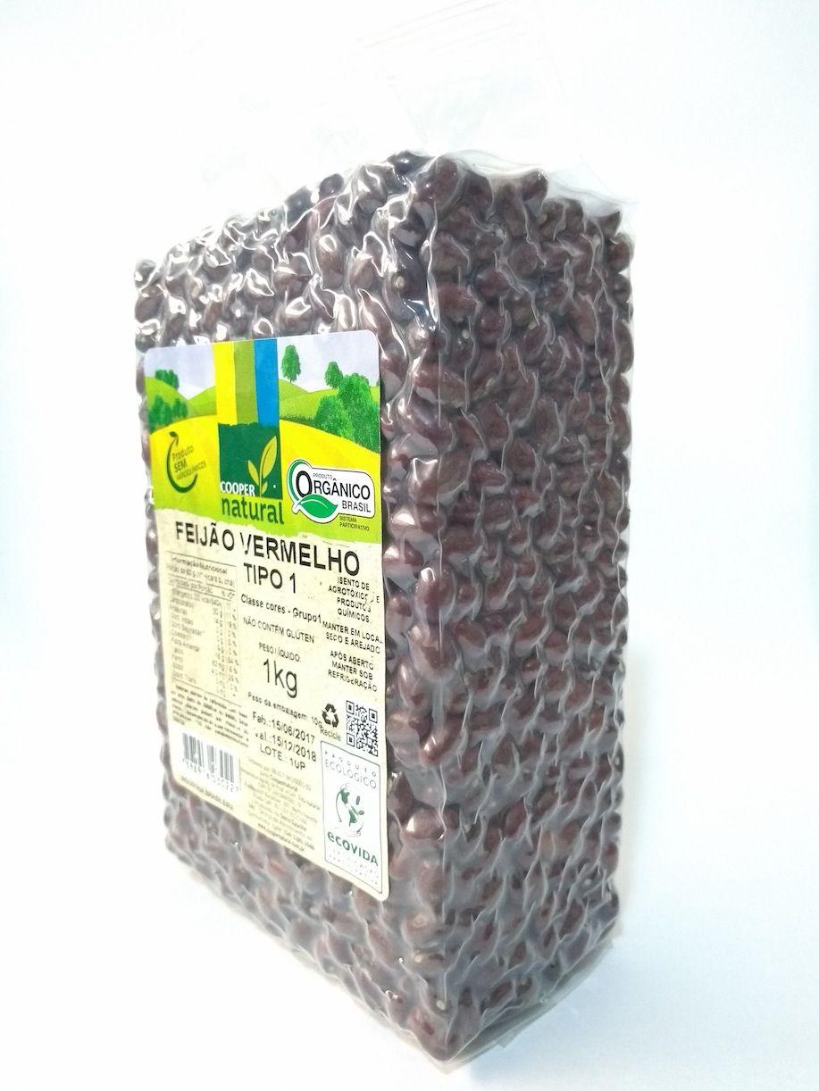 Feijão vermelho orgânico, 1kg – Coopernatural