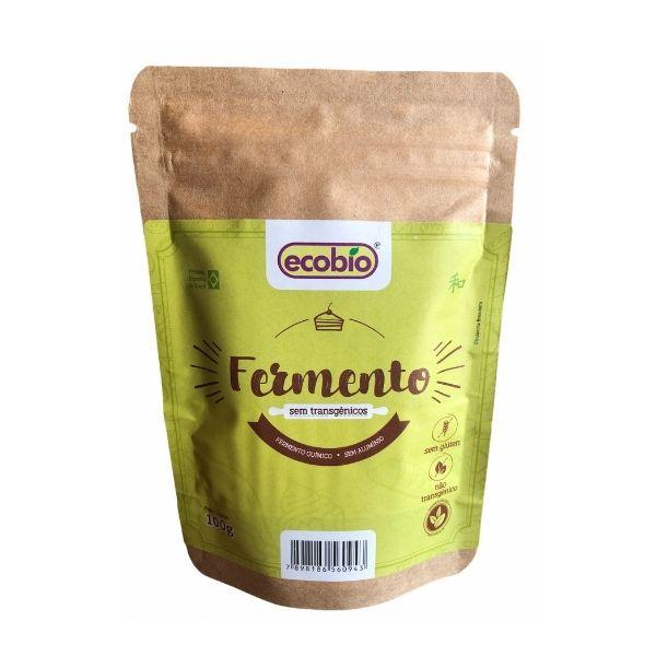 Fermento Sem Transgênicos 100g - Ecobiog