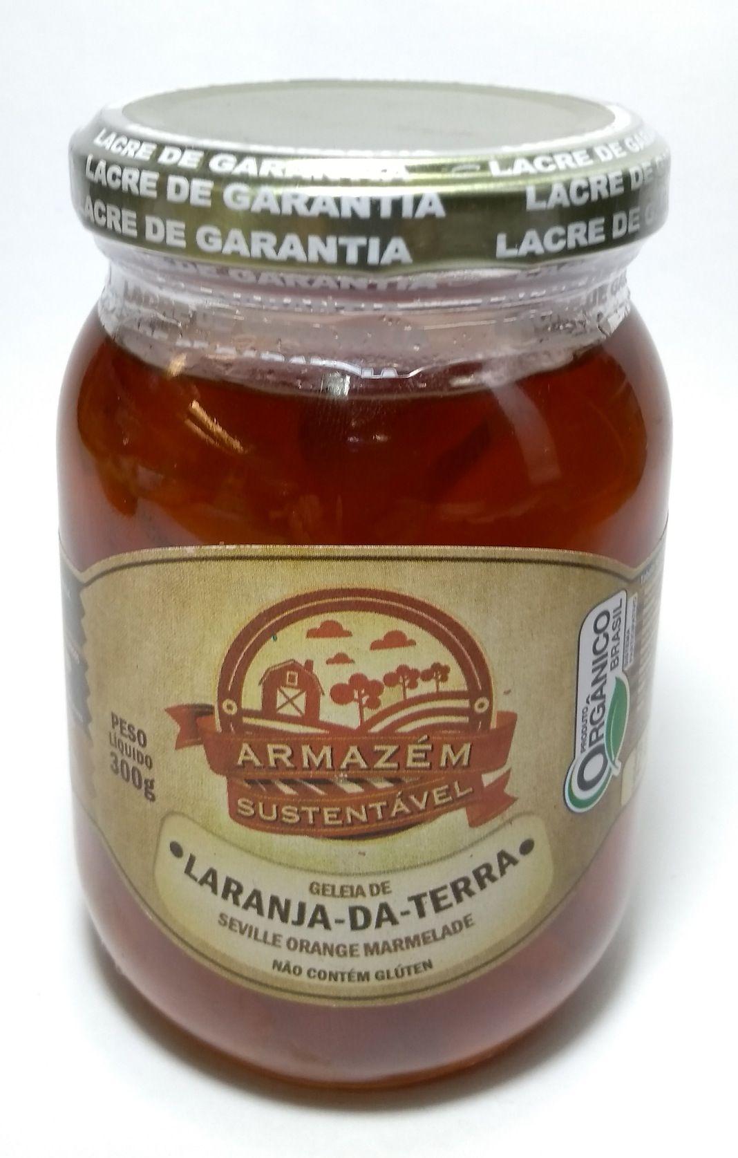 Geleia orgânica de laranja-da-terra, 300g – Armazém Sustentável