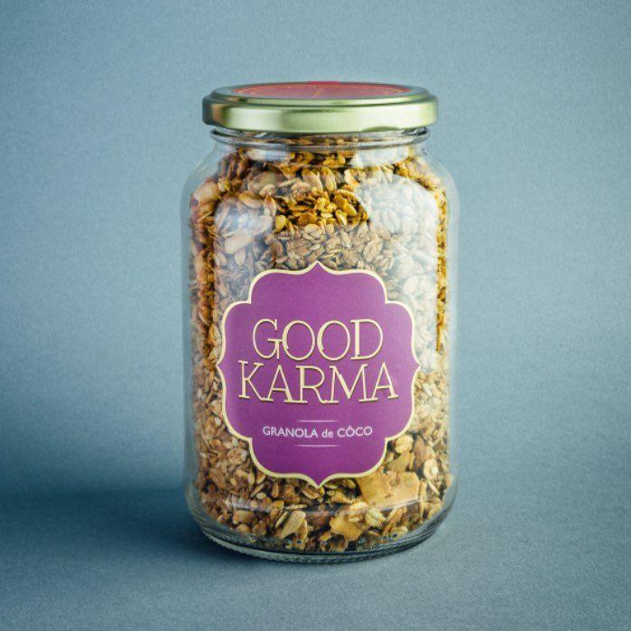 Granola de coco, 270g – Good Karma