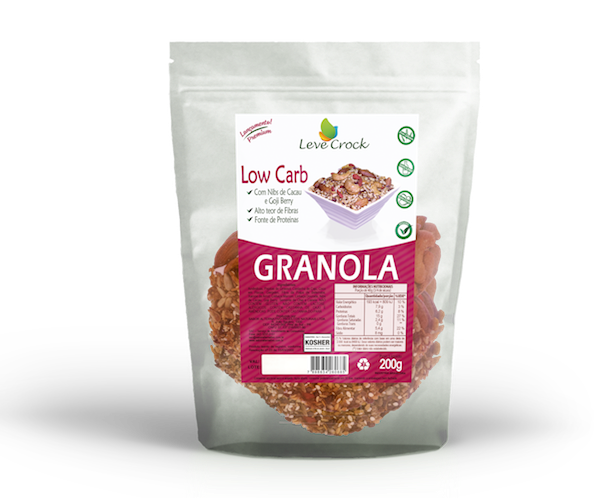 Granola low carb, 200g  – Leve Crock