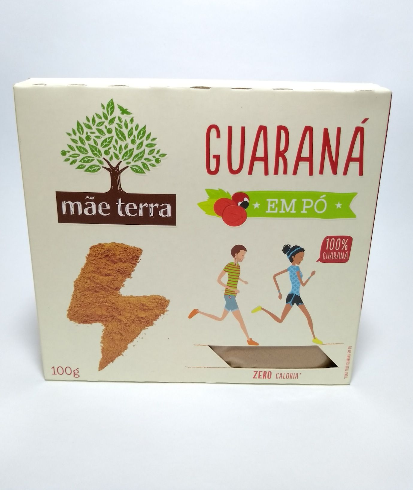 Guaraná em pó, 100g – Mãe Terra