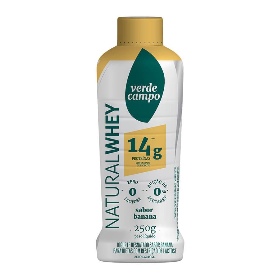Iogurte natural whey, 250g - Verde Campo