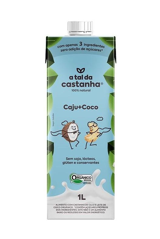 Leite Castanha de Caju + Coco - A Tal da Castanha
