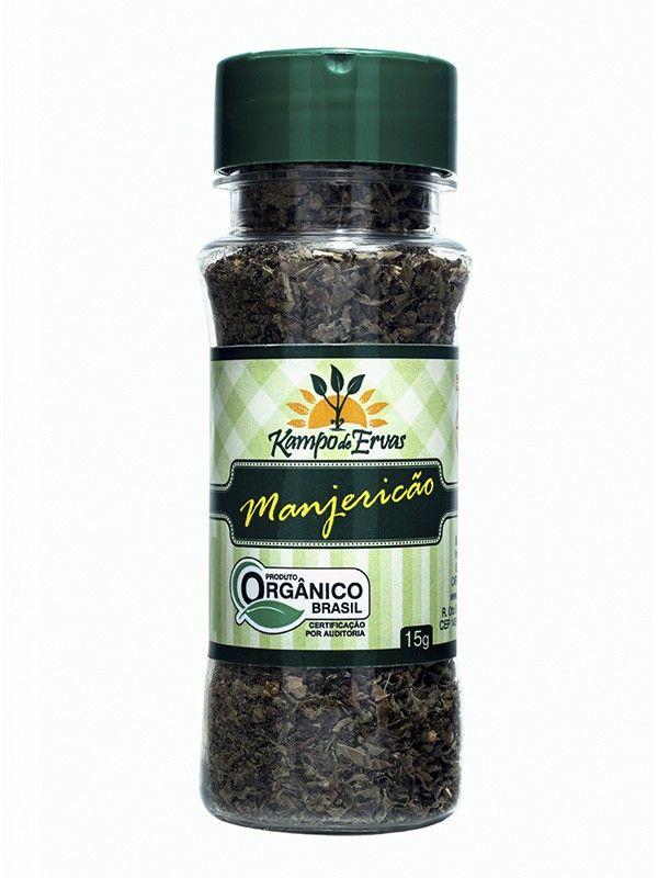 Manjericão orgânico, 15g – Kampo de Ervas