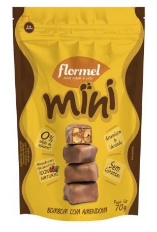 Mini bombom, 70g - Flormel
