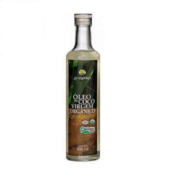 Óleo de coco virgem orgânico - Dr. Orgânico