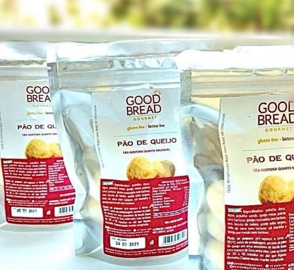 Pão de Queijo Sem Glúten - Good Bread
