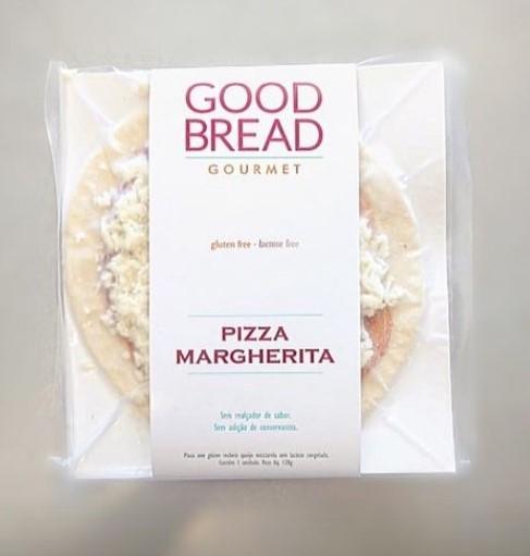 Pizza Marguerita Sem Glúten - Good Bread