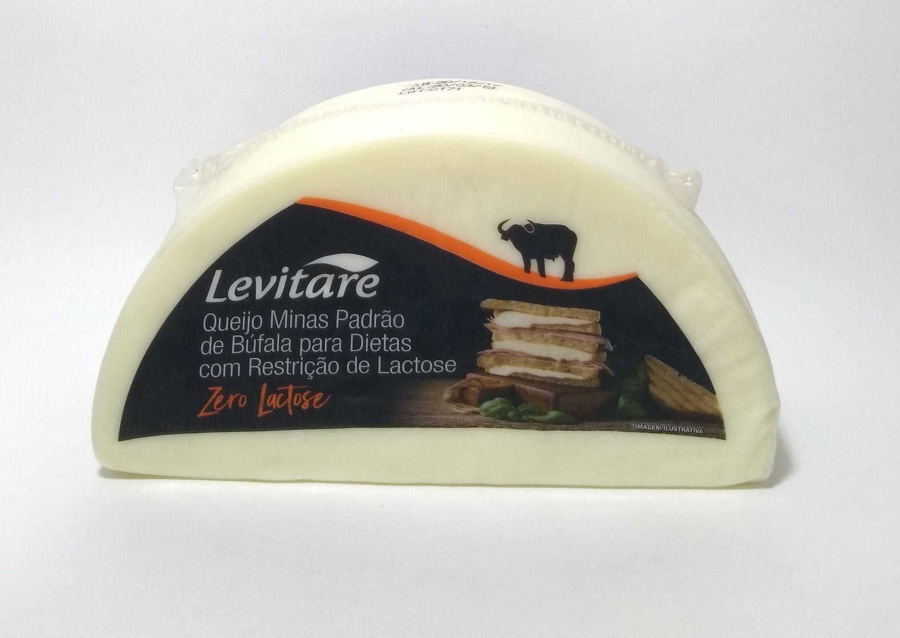 Queijo minas padrão de búfala zero lactose - Levitare