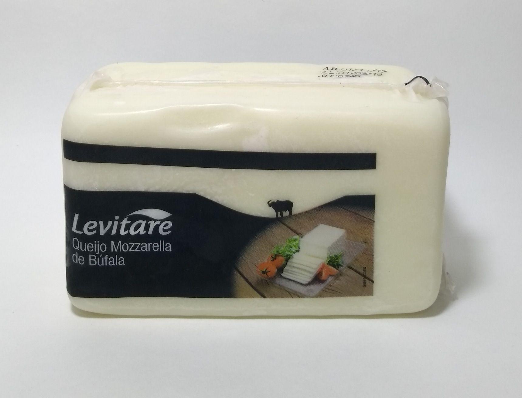 Queijo mozzarella de búfala – Levitare