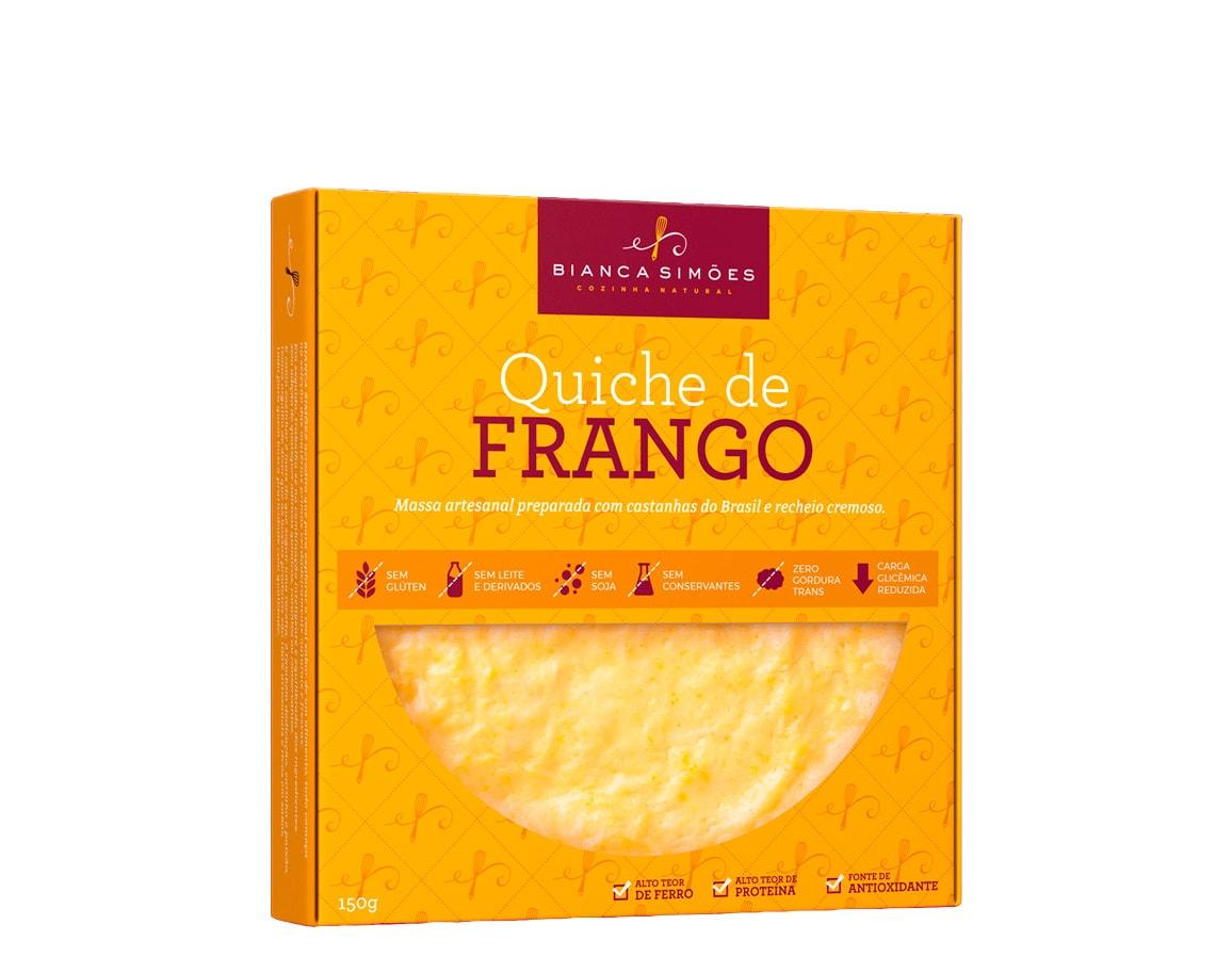 Quiche de Frango com Cúrcuma 150g - Bianca Simões