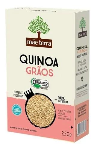Quinoa em grãos orgânica, 250g – Mãe Terra