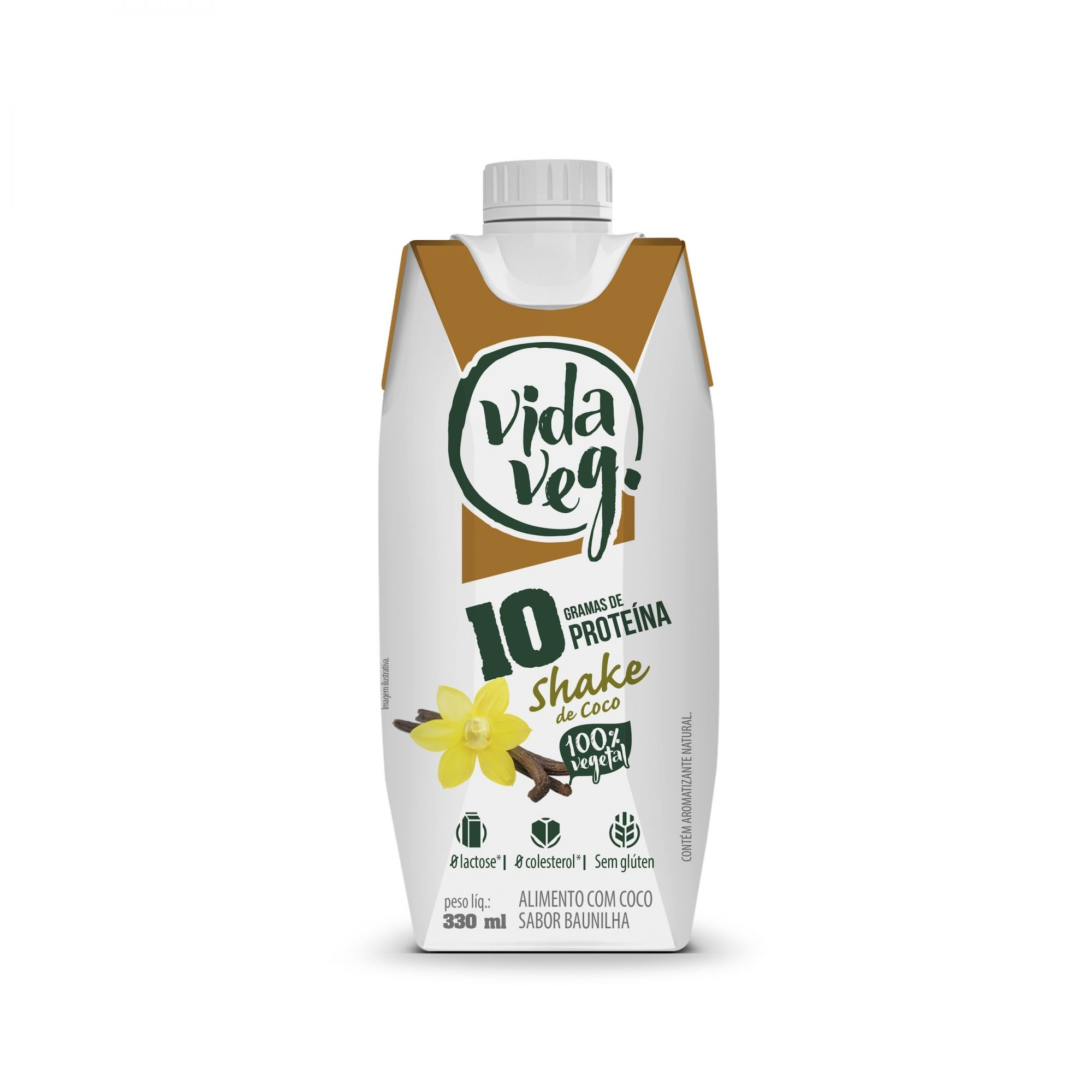 Shake vegano 10g de proteína, 330ml  - Vida Veg