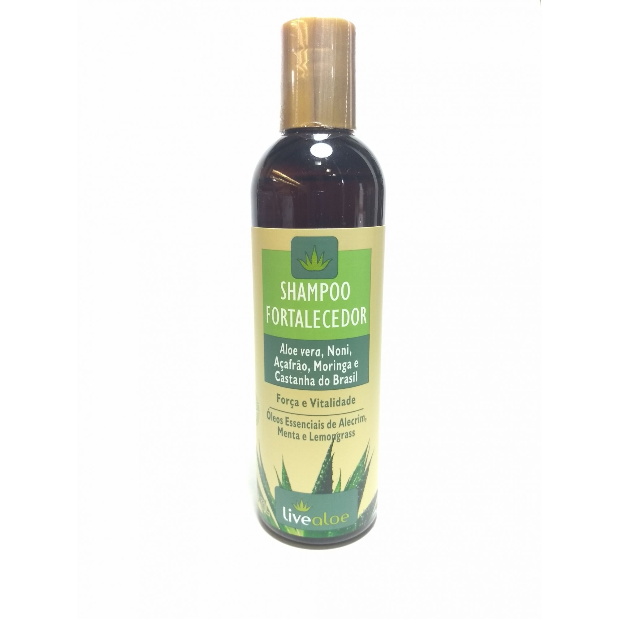 Shampoo fortalecedor, 240ml – Live Aloe