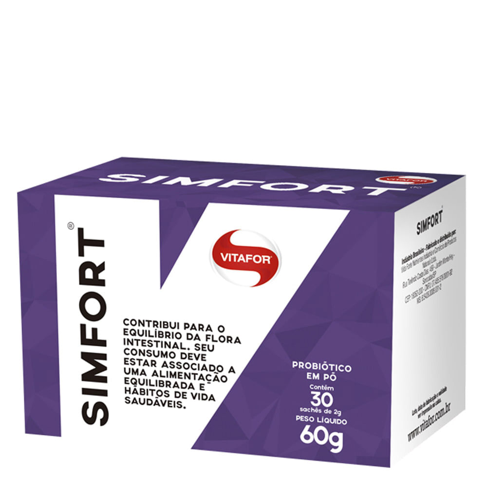 Simfort 60g e 20g - Vitafor