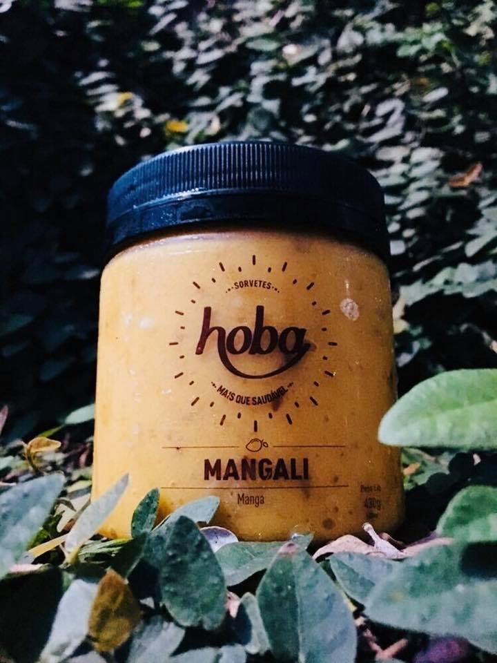 Sorvete mangali, sabor manga, 430g – Hoba