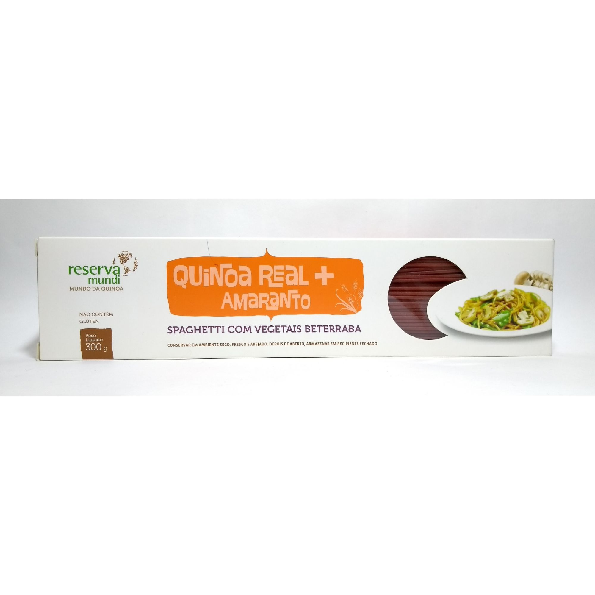 Spaghetti quinoa real e amaranto, 300g – Reserva Mundi