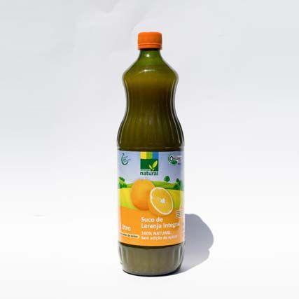 Suco de laranja integral orgânico, 1L – Coopernatural