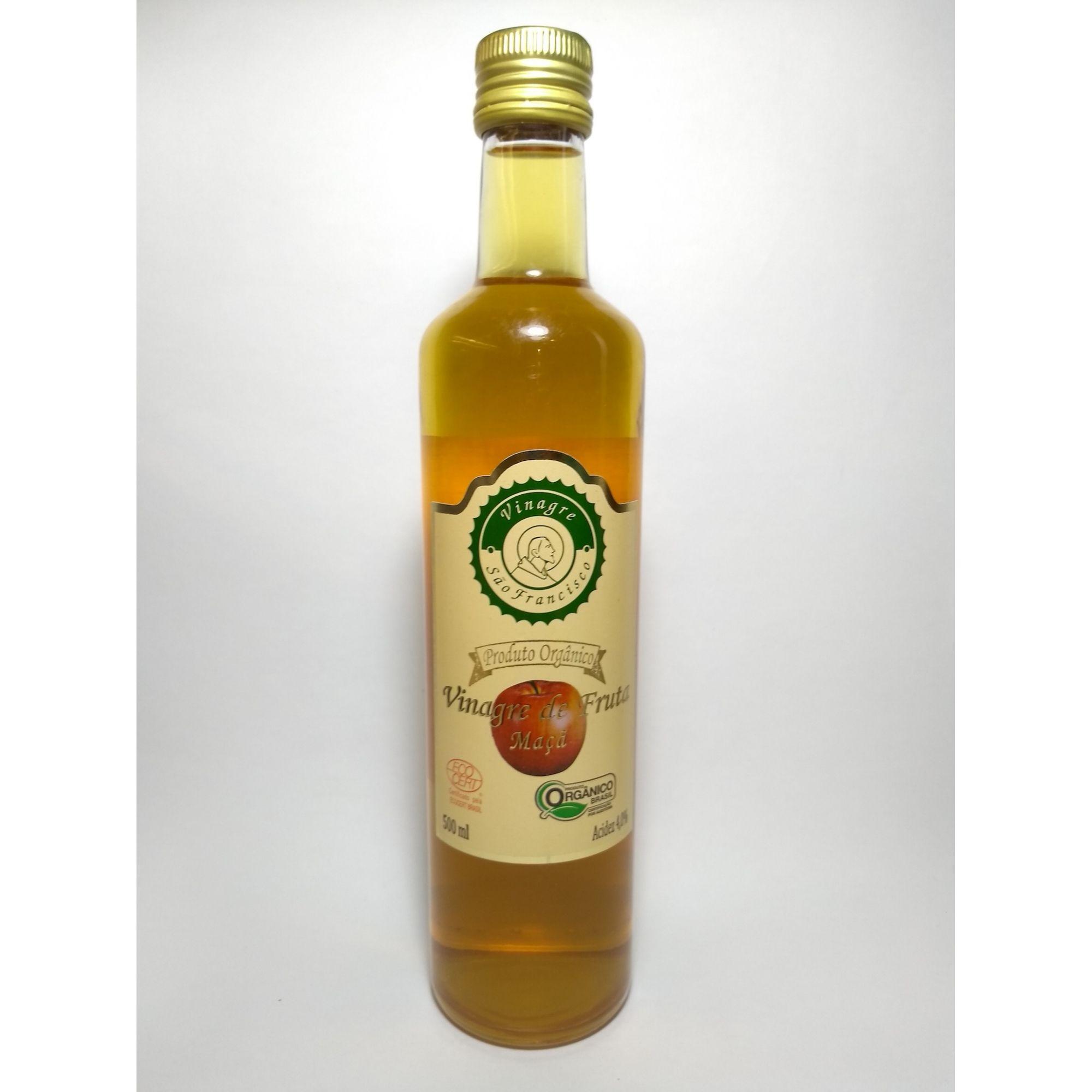 Vinagre de maçã orgânico, 500ml – São Francisco
