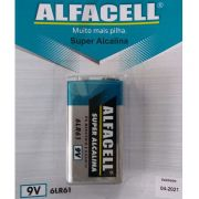 Bateria Alfacell 9v Alcalina