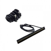 Captador Para Violão Studio Pro 6 Cordas Aço Com Jack Tron