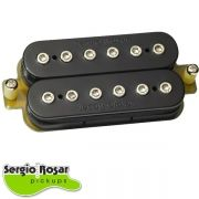 Captador Humbucker Sergio Rosar Rock King Plus Ponte Preto
