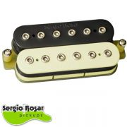 Captador Humbucker Sergio Rosar Rock King Plus Ponte Zebra Vintage