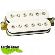 Captador Humbucker Sergio Rosar Rock King Ponte Branco