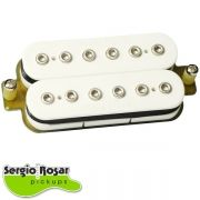 Captador Humbucker Sergio Rosar Supershred Branco