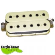 Captador Humbucker Sergio Rosar Virtual Active Creme