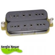 Captador Humbucker Sergio Rosar Virtual Active Preto