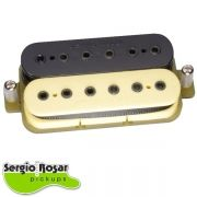 Captador Humbucker Sergio Rosar Virtual Active Zebra Vintage