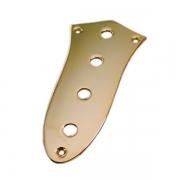 Chapa Controle Para Jazz Bass Dourada