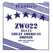 Corda Avulsa Daddario 022 Bronze Zw