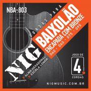 Corda Para Baixolão 4 cordas Nig 040 NBA-803