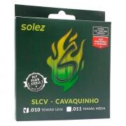 Corda Para Cavaco NPB .010 SLCV Solez