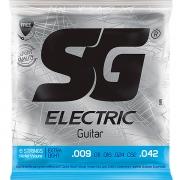 Corda Para Guitarra 009 Níquel Extra Light SG
