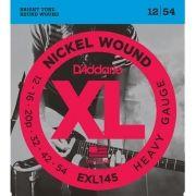 Corda Para Guitarra Daddario 012 EXL145