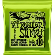 Corda Para Guitarra 010 Regular Slinky Ernie Ball