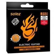 Corda Para Guitarra Solez 010 SLG10