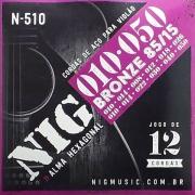 Corda Para Violão 12 Cordas 010 N-510 NIG