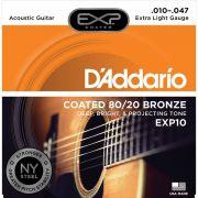 Corda Para Violão Daddario 010 EXP10