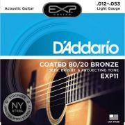 Corda Para Violão Daddario 012 EXP11