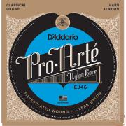 Corda Para Violão Daddario Pro Arte Nylon Ej46 Hard